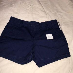 Super cute navy shorts!!